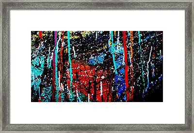 Jazz Process 29 Framed Print
