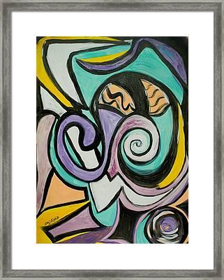 Jazzie Framed Print