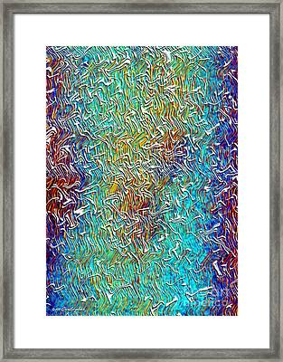 Jazzm Framed Print by Cristophers Dream Artistry