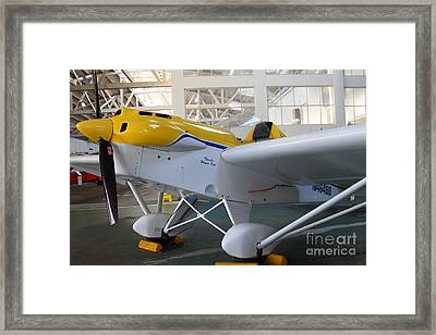 Jdt Mini Max 1600r . Eros . Single Engine Propeller Kit Airplane . 7d11169 Framed Print by Wingsdomain Art and Photography