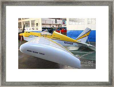 Jdt Mini Max 1600r . Eros . Single Engine Propeller Kit Airplane . 7d11189 Framed Print by Wingsdomain Art and Photography
