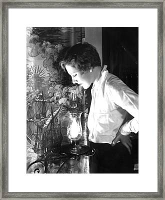 Jean Arthur, Paramount Pictures, 1928 Framed Print by Everett