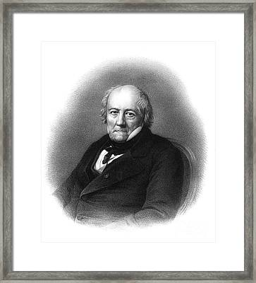 Jean-baptiste Biot, French Polymath Framed Print by Science Source