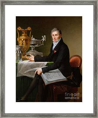 Jean-baptiste-claude Odiot Framed Print by Robert Lefevre