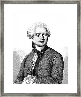 Jean D'alembert, French Mathematician Framed Print by