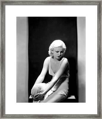 Jean Harlow, 1932 Framed Print by Everett