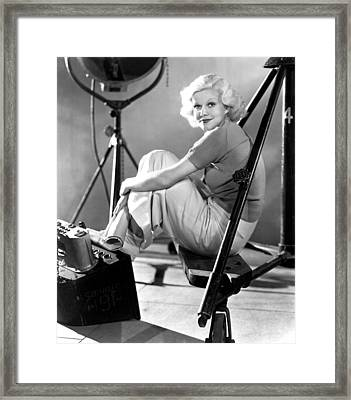 Jean Harlow, Ca. 1934-35 Framed Print by Everett