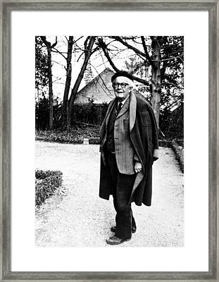 Jean Piaget, Author, 1974 Framed Print by Everett