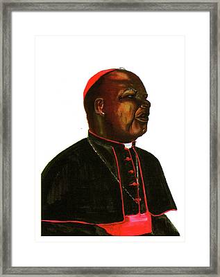 Jean Zoa Framed Print by Emmanuel Baliyanga