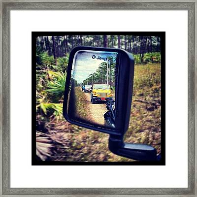 Jeep Excursion Framed Print