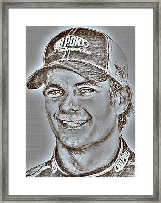 Jeff Gordon In 2010 Framed Print
