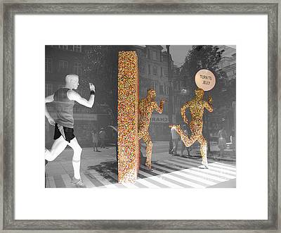 Jelly Beings Framed Print by Stav Stavit Zagron