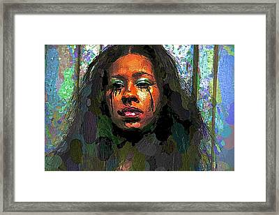 Framed Print featuring the photograph Jemai by Alice Gipson