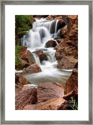 Jemez Springs Framed Print by Eddie Yerkish