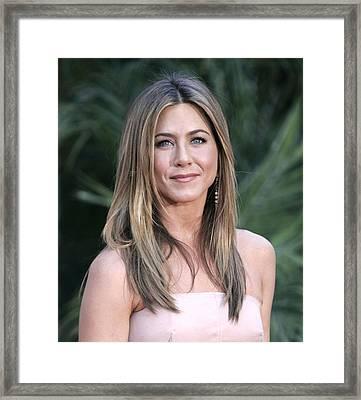 Jennifer Aniston At Arrivals For The Framed Print by Everett