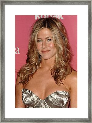 Jennifer Aniston At Arrivals For Women Framed Print by Everett