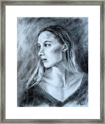 Jennifer Framed Print