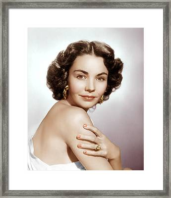 Jennifer Jones, Ca. Early 1950s Framed Print by Everett