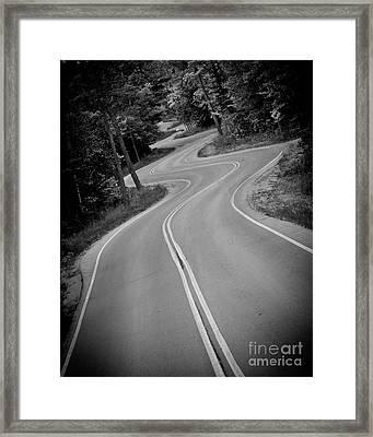 Jensen's Road Framed Print