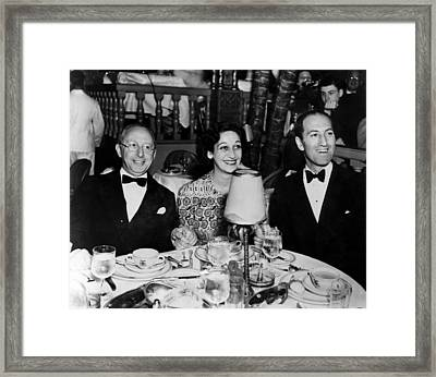 Jerome Kern, Dorothy Fields, George Framed Print by Everett