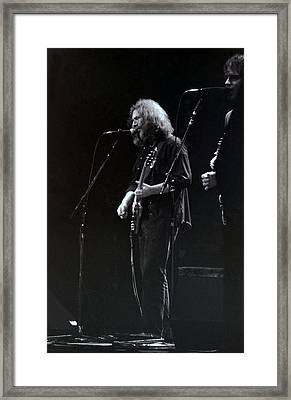 The Grateful Dead -  East Coast Framed Print by Susan Carella