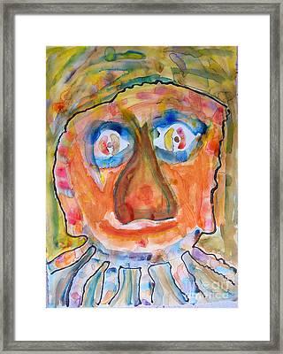 Jerry K. Framed Print by Bill Davis