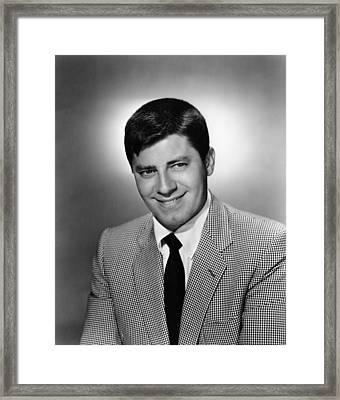 Jerry Lewis, Ca. Late 1950s Framed Print by Everett