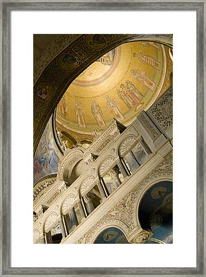 Jerusalem, Israel, Church Of The Holy Framed Print by Richard Nowitz
