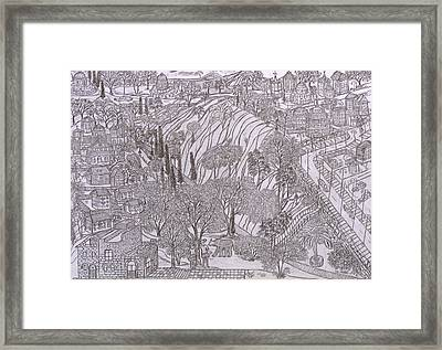Jerusalem Iv Framed Print by Yuriy Mkhitaryants