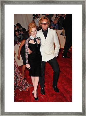 Jessica Chastain, Peter Dundas Framed Print by Everett