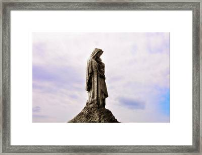 Jesus And Mary Framed Print by Bill Cannon