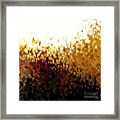 Jesus Christ Our Advocate Framed Print by Mark Lawrence