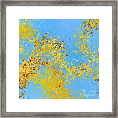 Jesus Christ The Holy One Of God Framed Print by Mark Lawrence