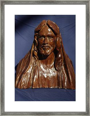Jesus Of Nazareth Framed Print by Rick Ahlvers