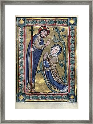 Jesus: Resurrection Framed Print by Granger