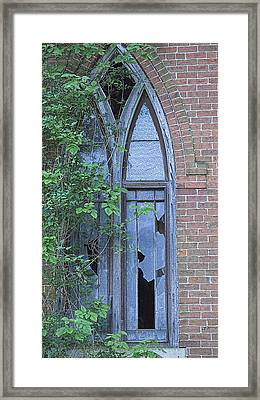 Framed Print featuring the photograph Jesus Saves 2 by John Crothers