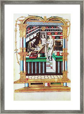 Jesus The Apothecary, 16th Century Framed Print by