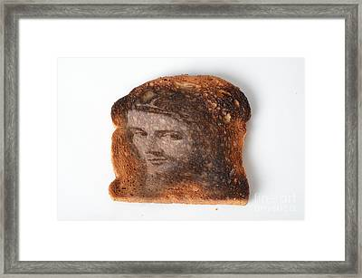 Jesus Toast Framed Print by Photo Researchers, Inc.