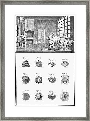 Jewelers Workshop Framed Print by Granger