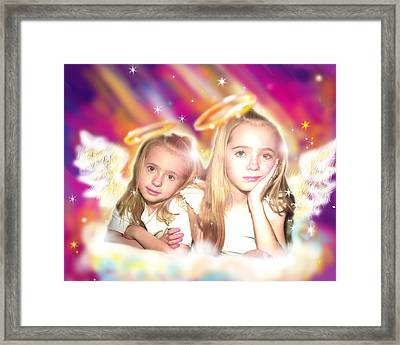 Jewell.angelic 2 Framed Print