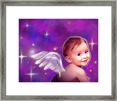 Jewell.angelic 3 Framed Print