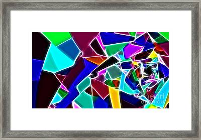 Jewelled Framed Print by Methune Hively