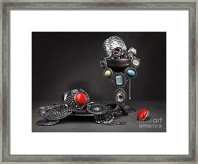 Jewellery Still Life Framed Print by Oleksiy Maksymenko