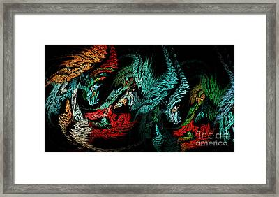 Jewels Of The Night Framed Print