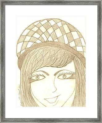 Jezebel   Framed Print by Shayna  Keach