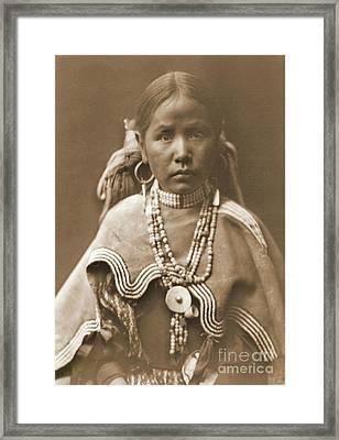Jicarilla Maiden Framed Print by Padre Art