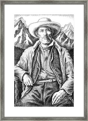 Jim Bridger Framed Print by Gordon Punt