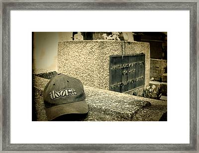 Jim In Memory Framed Print by Tony Grider