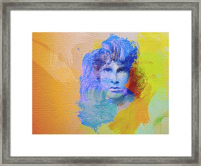 Jim Morisson Framed Print by Naxart Studio
