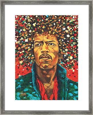 Jimi 1 Framed Print